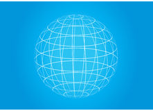 Grid earth globe icon Royalty Free Stock Photo