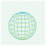 Grid earth globe icon Stock Photo