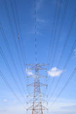 Grid electricity tower - Series 2 Stock Image