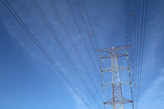 Grid electricity tower - Series 4 Stock Image