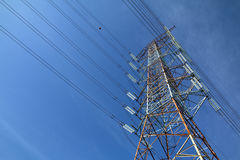 Grid electricity tower - Series 5 Royalty Free Stock Photography