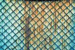 Grid fence Royalty Free Stock Photos