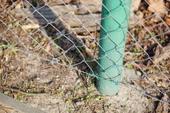 Grid fence Stock Images