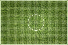 The grid Football field green. Soccer Royalty Free Stock Images