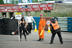 Grid girl Stock Photography