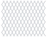 Grid grille background with rhomboids Royalty Free Stock Photography