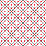 Grid hearts pattern Stock Photos