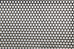 Grid in honeycomb pattern Stock Images