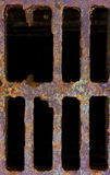 Grid manhole cover Royalty Free Stock Photography