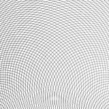 Grid, mesh of circular thin lines. Geometric texture, pattern. I Royalty Free Stock Image