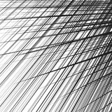 Grid, mesh of dynamic irregular lines. Abstract geometric trelli Stock Photo