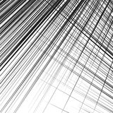 Grid, mesh of dynamic irregular lines. Abstract geometric trelli Royalty Free Stock Photography