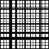 Grid, mesh of intersecting lines. Abstract monochrome background Stock Photography