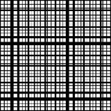 Grid, mesh of intersecting lines. Abstract monochrome background Stock Photo
