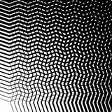Grid mesh of irregular jagged, wavy lines. Abstract monochrome t vector illustration