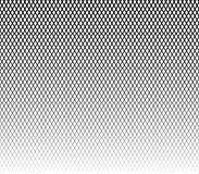 Grid, mesh monochrome abstract repeatable pattern with intersect. Ing irregular wavy, zigzag lines seamlessly repeatable horizontally- Royalty free vector Stock Images