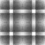 Grid mesh pattern with irregular lines - Seamlessly repeatable Royalty Free Stock Photography