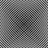 Grid, mesh pattern with slight convex effect. Square format abst Stock Photography