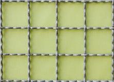 grid metal 库存图片