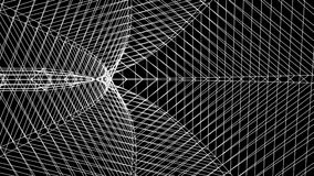 Grid net spider web tunnel abstract drawing polygonal motion graphics seamless loop animation background new quality. Grid net abstract drawing polygonal soft stock footage