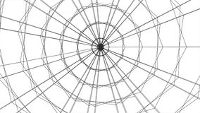 Grid net spider web tunnel abstract drawing polygonal motion graphics seamless loop animation background new quality. Grid net abstract drawing polygonal soft stock video footage