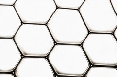 Grid. A nice black grid isolated over a whote background Royalty Free Stock Images