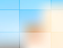 Grid opacity Royalty Free Stock Image