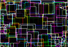 Grid over black background. Grid over black, created using the Processing programming environment vector illustration