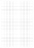Grid Paper Sheet. Vector, Illustration of Gray Grid Paper Sheet.  White Boarder Stock Photography