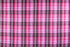 Grid pattern fabric texture Stock Images