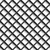 Grid pattern - seamless background. Royalty Free Stock Photography