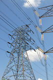 Grid power distribution Royalty Free Stock Photography