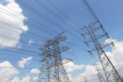 Grid power distribution - Series 4 royalty free stock images