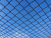 Grid. Rabitz against the sky Stock Image