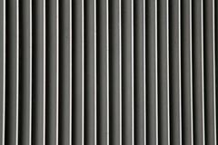 Grid of a radiator and radiator color grey industrial Stock Photos