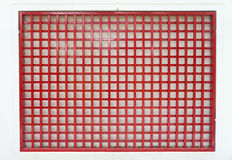 Grid red steel Royalty Free Stock Photography