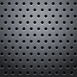Grid with round dots Royalty Free Stock Image