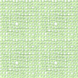 Grid seamless green. Seamless structure in the form of intersecting lines of light green imitated burlap, linen crumpled  or old jute fabric Stock Photo
