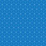 Grid seamless pattern. Geometric cube, Star effect. Fashion graphic design.Vector illustration. Background design.Modern stylish a Stock Photo