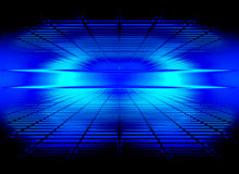 Grid of space Stock Image