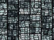 Grid Stained Glass Background Royalty Free Stock Image