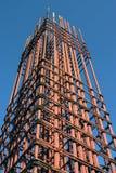 Grid of steel Royalty Free Stock Image