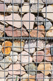 Grid and stones Stock Photography