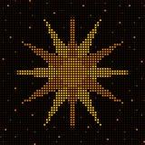 Grid sun Stock Photography