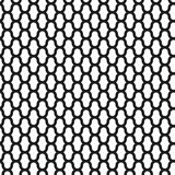 Grid vector seamless pattern, geometric abstract background of black and white color. Modern simple lattice line. Ornament vector illustration