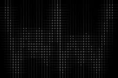 Grid of white diamond shapes Stock Photos