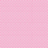 Pink background grid pattern small squares white vector illustration