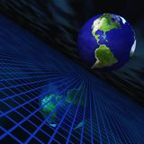 grid world Διανυσματική απεικόνιση