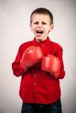 Grida del bambino Fotografia Stock