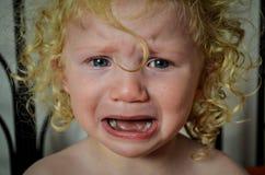 Gridare bambino immagini stock libere da diritti